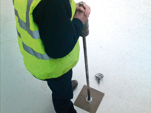 BRE Screed / Drop Testing