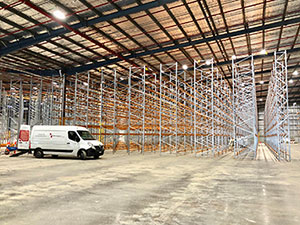 CoGri Australia carrying out a warehouse floor upgrade